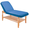 Fabrication Enterprises Deluxe Table with Lift-Back Blue FNT 15-3741B