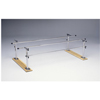 Fabrication Enterprises Parallel Bars, Wood Base, Folding, Height and Width Adjustable, 7' L x 16