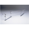 Fabrication Enterprises Parallel Bars, steel base, folding, height and width adjustable, 10 L x 16 - 24 W x 22 - 36 H FNT 15-4005