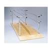 Fabrication Enterprises Parallel Bars, wood platform mounted, height and width adjustable, 10 L x 19 - 26 W x 26 - 44 H FNT 15-4050