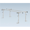 Fabrication Enterprises Parallel Bars, floor mounted, height and width adjustable, 16 L x 6 W x 26 - 44 H FNT 15-4063