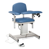 Fabrication Enterprises Clinton, Power Series Phlebotomy Chair, Padded Arms FNT 15-4515