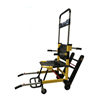 Fabrication Enterprises Manual Track Stair Chair-4 Wheels-Yellow FNT16-1902