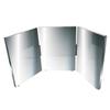 Fabrication Enterprises Glassless Mirror, Triple Panel, 12 W x 16 H FNT 19-1061