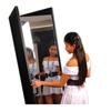 Fabrication Enterprises Glassless mirror, free-standing, double panel, 24 H x 72 H FNT 19-1072