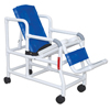 Fabrication Enterprises MJM International, Tilt N Space Shower Chair, Buckle Safety Belt, Double Drop Arms FNT 20-4247