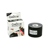Fabrication Enterprises CanDo® Kinesiology Tape, 2 x 16.5 ft, Black, 1 Roll FNT 24-4852