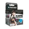 Fabrication Enterprises Kinesio® Tape, Tex Classic, 2 x 4.4 Yds, Black, 6 Rolls FNT 24-4893-6