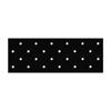 "workwear dress coats: Fabrication Enterprises - Orfit® Eco Blacknon-Stick Antibacterial, 18"" X 24"" X 1/8"", Mini-Perforated, Case Of 4"