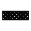 "workwear dress coats: Fabrication Enterprises - Orfit® Eco Blacknon-Stick Antibacterial, 24"" X 36"" X 1/8"", Mini-Perforated"