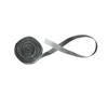 Fabrication Enterprises 2 Elastic Loop Material, 25 Yard Dispenser Box, Black FNT 24-7016BLK