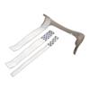 "Rehabilitation: Fabrication Enterprises - Loop Strap with Self-Adhesive Hook, 1"" x 12"", 10 Each"