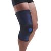 Fabrication Enterprises Uriel Genusil Rigid Knee Sleeve, Patella Support, Medium, Blue FNT 24-9132
