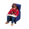 Fabrication Enterprises Skillbuilders® 2-Piece Mobile Floor Sitter with Wood Base, Medium FNT 30-1171