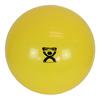 "Rehabilitation: Fabrication Enterprises - CanDo® Inflatable Exercise Ball - Yellow - 18"" (45 cm)"