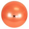 """Rehabilitation: Fabrication Enterprises - CanDo® Inflatable Exercise Ball - Orange - 22"""" (55 cm)"""