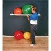 "Rehabilitation: Fabrication Enterprises - Inflatable Exercise Ball - Accessory - PVC Wall Rack, 64"" x 18"" x 2"", 1 Shelf"