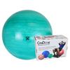 "Rehabilitation: Fabrication Enterprises - CanDo® Inflatable Exercise Ball - Extra Thick - Green - 26"" (65 cm), Retail Box"