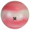 "Rehabilitation: Fabrication Enterprises - CanDo® Inflatable Exercise Ball - Extra Thick - Red - 30"" (75 cm)"