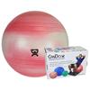 "Rehabilitation: Fabrication Enterprises - CanDo® Inflatable Exercise Ball - Extra Thick - Red - 30"" (75 cm), Retail Box"
