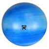 "Rehabilitation: Fabrication Enterprises - CanDo® Inflatable Exercise Ball - Extra Thick - Blue - 34"" (85 cm)"