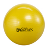 "Rehabilitation: Fabrication Enterprises - Thera-Band® Inflatable Exercise Ball - Pro Series SCP™ - Yellow - 18"" (45 cm), Retail Box"