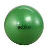 "Rehabilitation: Fabrication Enterprises - Thera-Band® Inflatable Exercise Ball - Pro Series SCP™ - Green - 26"" (65 cm), Retail Box"
