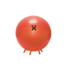 "Rehabilitation: Fabrication Enterprises - CanDo® Inflatable Exercise Ball - with Stability Feet - Orange - 22"" (55 cm)"
