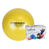 "Rehabilitation: Fabrication Enterprises - CanDo® Inflatable Exercise Ball - Super Thick - Yellow - 18"" (45 cm), Retail Box"