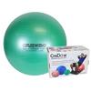 "Rehabilitation: Fabrication Enterprises - CanDo® Inflatable Exercise Ball - Super Thick - Green - 26"" (65 cm), Retail Box"