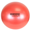 "Rehabilitation: Fabrication Enterprises - CanDo® Inflatable Exercise Ball - Super Thick - Red - 30"" (75 cm)"