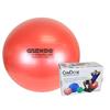 "Rehabilitation: Fabrication Enterprises - CanDo® Inflatable Exercise Ball - Super Thick - Red - 30"" (75 cm), Retail Box"