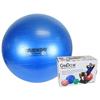 "Rehabilitation: Fabrication Enterprises - CanDo® Inflatable Exercise Ball - Super Thick - Blue - 34"" (85 cm), Retail Box"