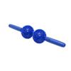 Fabrication Enterprises Point Relief® Massage Bar - 9 x 43cm - 2 Balls - Blue FNT 30-1992