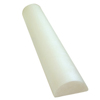 "Needles Syringes Spinal Needles: Fabrication Enterprises - CanDo® Foam Roller - White PE Foam - 6"" x 36"" - Half-Round"