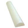 "Rehabilitation: Fabrication Enterprises - CanDo® Foam Roller - White PE Foam - 6"" x 36"" - Half-Round"