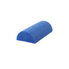 "Rehabilitation: Fabrication Enterprises - CanDo® Foam Roller - Blue PE Foam - 6"" x 36"" - Half-Round"