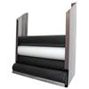 Fabrication Enterprises CanDo® Foam Roller - Accessory - Wall-Mount Storage Rack - 36 W x 10 D x 40 H FNT 30-2180