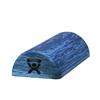 Fabrication Enterprises CanDo® Foam Roller - Blue Eva Foam - Extra Firm - 6 x 12 - Half-Round FNT 30-2211
