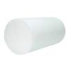 "Rehabilitation: Fabrication Enterprises - CanDo® Foam Roller - Jumbo - White PE Foam - 8"" x 12"" - Round"