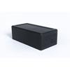 "Clean and Green: Fabrication Enterprises - Blackroll® Block, 12""X 6"" X 4"", Black"
