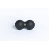 "Clean and Green: Fabrication Enterprises - Blackroll® Duoball, Black, 6.3"" X 3.2"" X 3.2"" Double Ball"