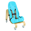 Seating and Positioning Positioning Seat Accessories: Fabrication Enterprises - Special Tomato® Soft-Touch™ Sitter Seat - Seat And Mobile Base - Size 3 - Teal