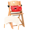 Seating and Positioning Positioning Seat Accessories: Fabrication Enterprises - Special Tomato® Height Right™ Chair - Early Pelvic Positioner Only - Brown