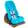 Seating and Positioning Positioning Seat Accessories: Fabrication Enterprises - Special Tomato® Floor Sitter - Seat And Wedge - Size 3 - Teal