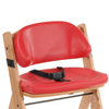 Seating and Positioning Positioning Seat Accessories: Fabrication Enterprises - Special Tomato® Soft-Touch™ - Seat Liner - Size 1 - Red