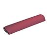 "Rehabilitation: Fabrication Enterprises - Half Round Bolster - 24.5"" L x 6"" Dia - Burgundy"