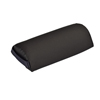 "Rehabilitation: Fabrication Enterprises - Mini Half Round Bolster - 13"" L x 6"" Dia - Black"