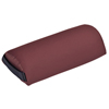 "Rehabilitation: Fabrication Enterprises - Mini Half Round Bolster - 13"" L x 6"" Dia - Burgundy"