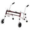 Fabrication Enterprises Glider Walker Pediatric, Width 22, Height 12-21, Red FNT 31-3010R